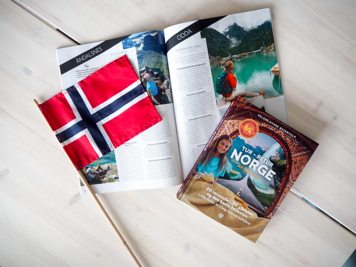 Roadtrip planlegger. Tur-retur Norge av Helenemoo