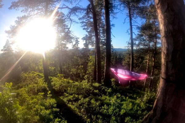 Adventure time: Hengekøyetur på Valås