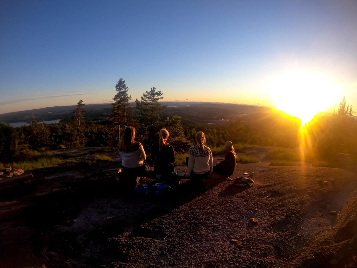 Utsikt fra Valås