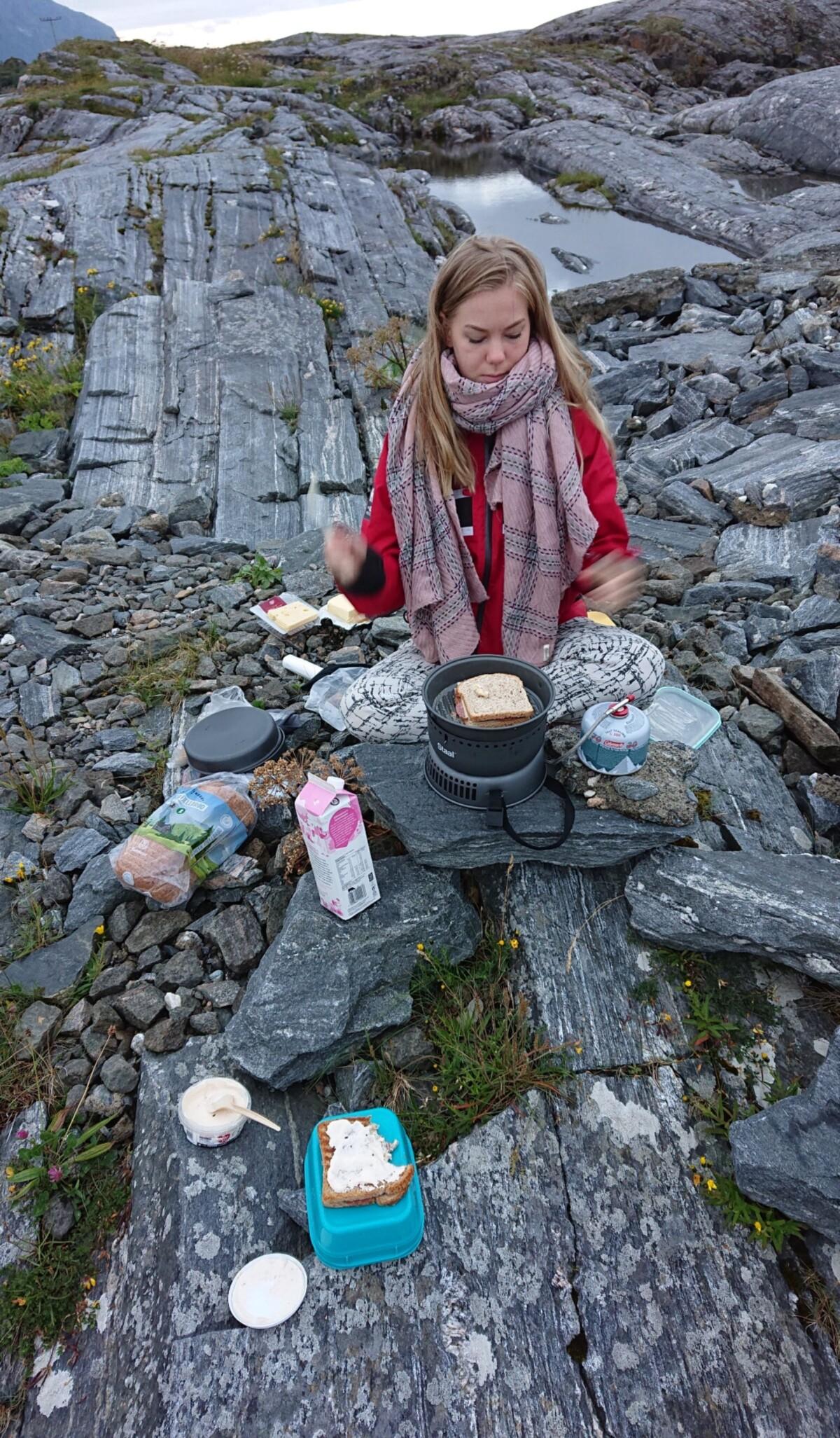 Frokost på Atlanterhavsveien