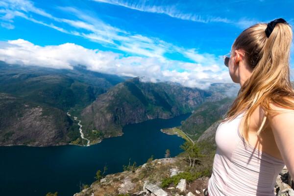 Adventure Time: Topptur til Langfoss i Åkrafjorden