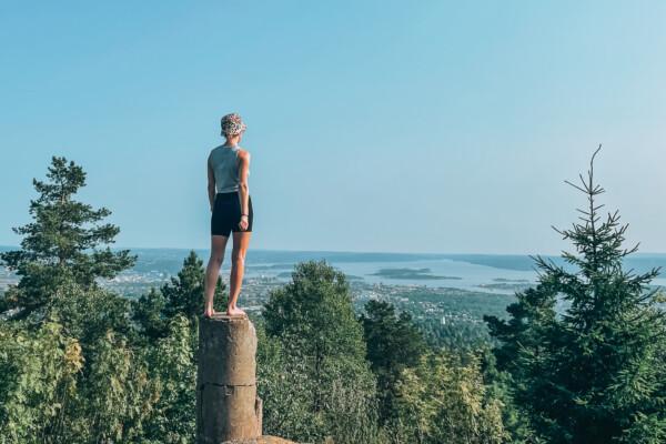 Adventure time: Hengekøyetur på Vettakollen i Oslo