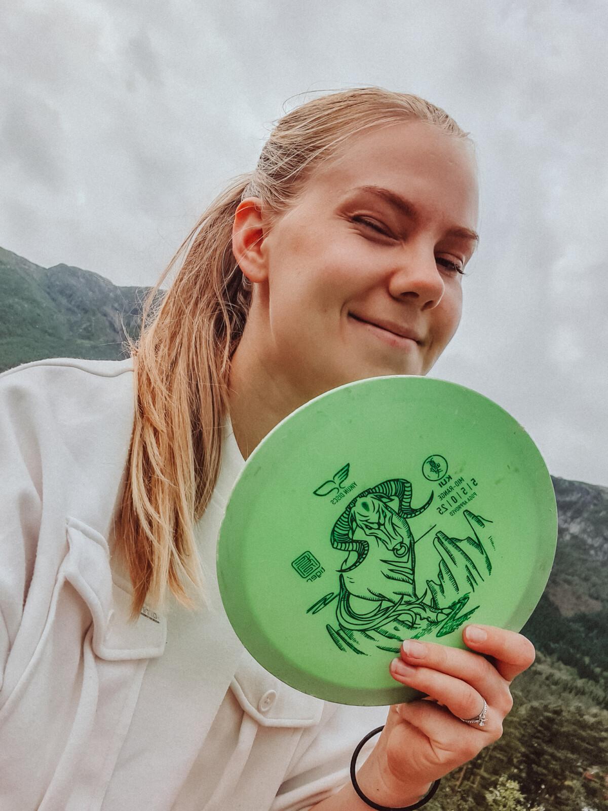 Frisbee i Jondal