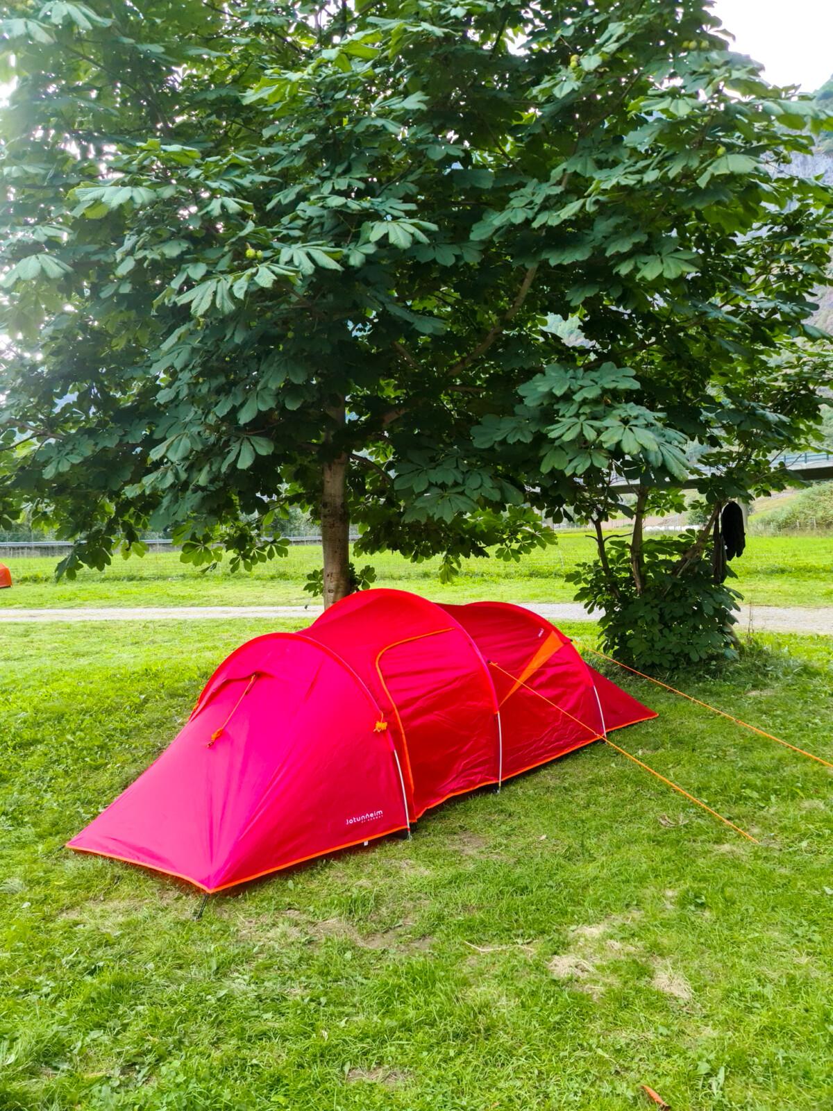 Flåm camping