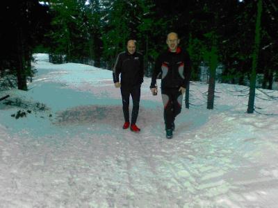 Skitur i Romeriksåsen; Sjonken og Hakkim