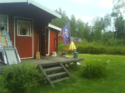 Ferie på hytta 2010 – Lyseren