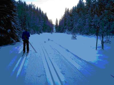 Østmarka; Smørhullet – Paradisdalen – Stakanløypa…..skitur