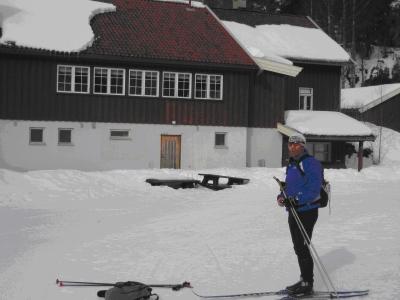 Østmarka; Haraløkka – Grusbakken – Vangen…på ski