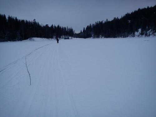Østmarka; Vangentur fra Haraløkka…..skitur
