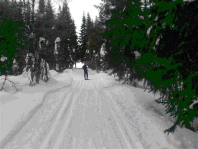 Skitur i Nordmarka; Mylla – Øyangen – Katnosa….