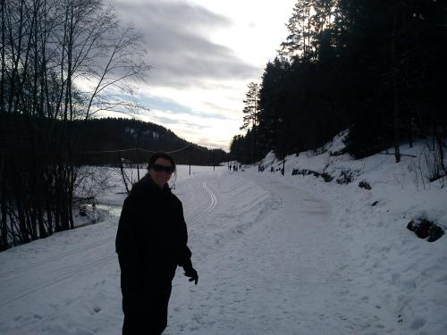 Tur med kona Sørlihavna – Losby