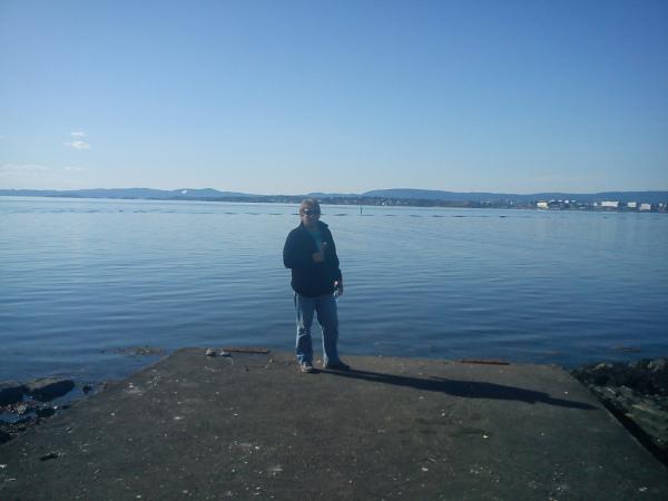 Tur med kona på Bygdøy – Huk