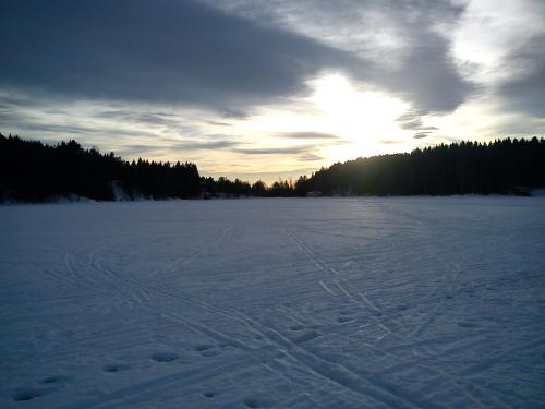16 januar 2012 Med ski på Nøklevann