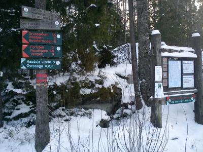 11 fenruar 2012 Skitur i Østmarka