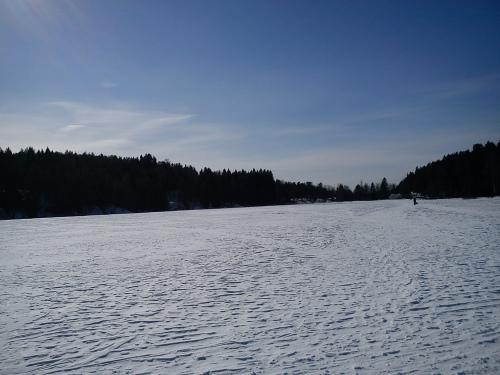 21 mars 2013 Vannveien i Østmarka