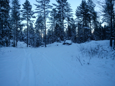 7 desember 2012 Østmarka – Sør-Elvåga-Eriksvann-Sandbakken