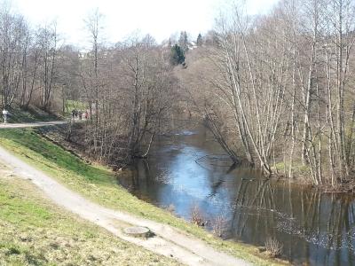 Påsken 2014, tur langs Akerselva