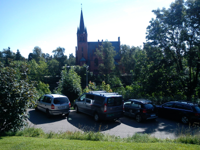 Landevei; Sandvika – Høvik – Veritasparken