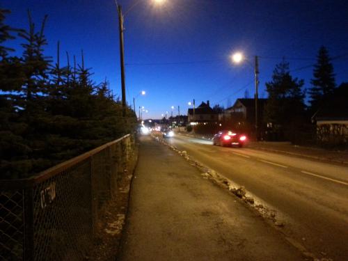 17 februar 2014 Landevei, Haraløkka – Hauketo – Klemetsrud