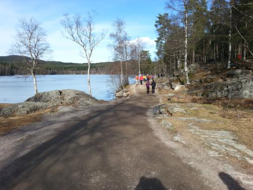15 mars 2014, SRM – Sognsvann rundt motsatt vei…