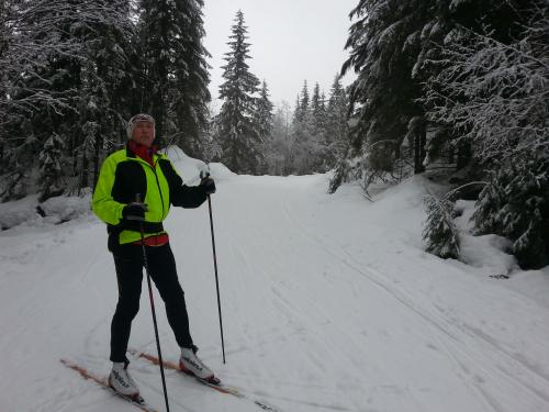 1 mars 2014, Skitur fra By i Lommedalen