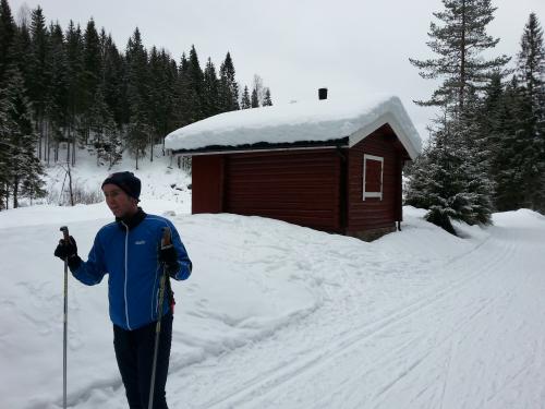 20 februar 2014 Skitur i Krokskogen
