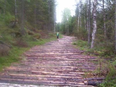 """Østmarka; """"Østmarkrunden"""" med joggesko"""
