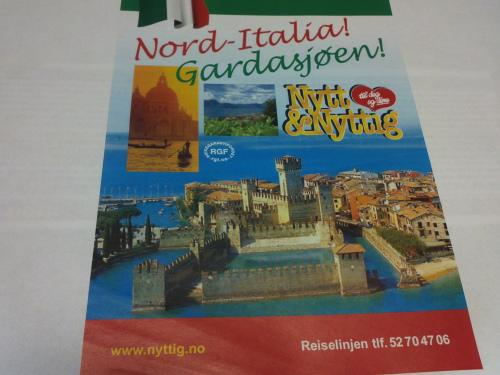 Italia – Gardasjøen – Sør-Tyrol og Dolomittene – Venezia…