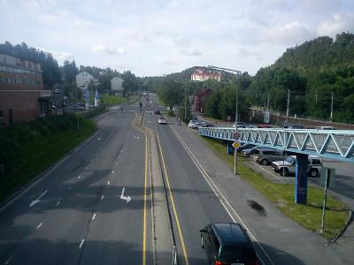 Landevei; Sandvika – Lysaker tur retur…