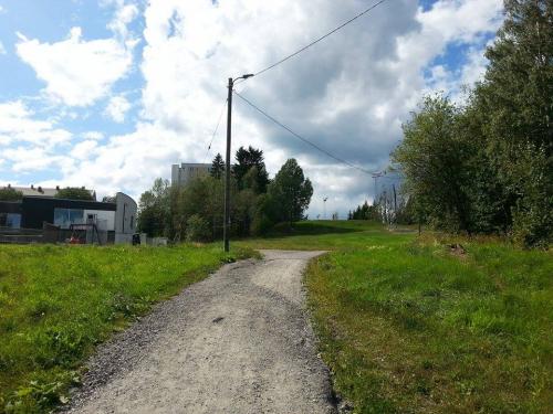Landevei; Haraløkka – Hvervenbukta tur retur