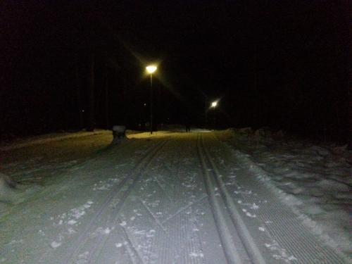 Østmarka; Deledalsrunden på ski…