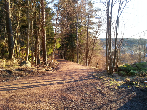 Landevei; Haraløkka – Skullerud – Ryen….