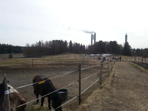 Landevei; Lofsrud gård – Klemetsrud….