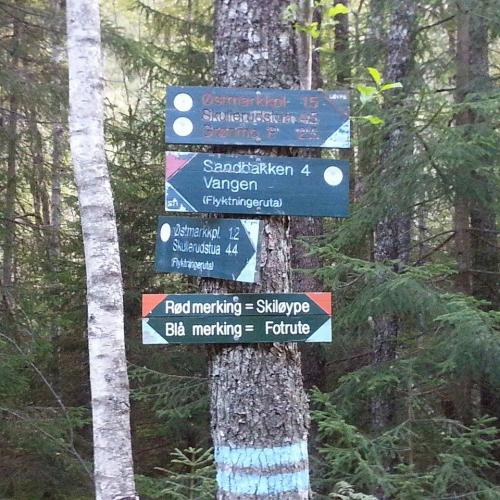 Østmarka; Haraløkka-Grønmo-Trollvann-Slettfjell….
