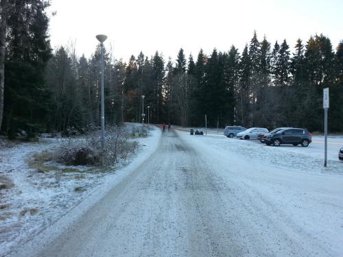 Lysløypa i Lambertseterskogen – Østensjø gårdene…