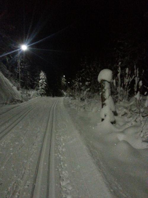 Skitur i Østmarka; Haraløkka – Igletjern