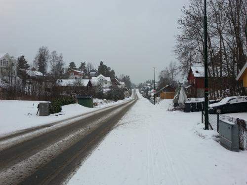 Sandvika – Slependveien – Nesøya rundt…
