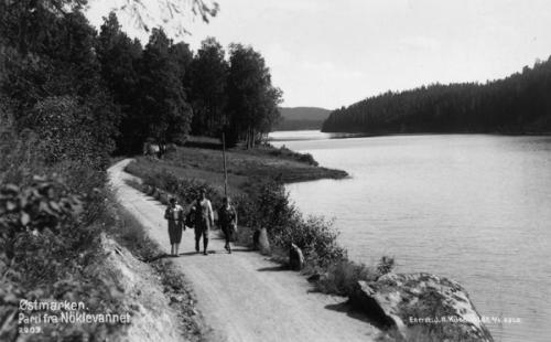 Østmarka; Haraløkka – Haugerud – Trasopp – Nøklevann….
