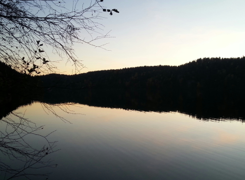 Østmarka; Lutvann rundt…..