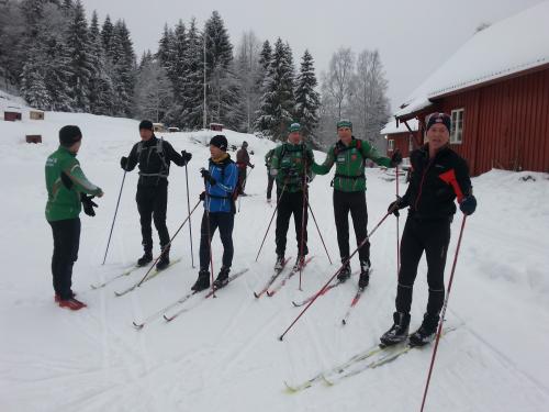 Skitur i Østmarka; Klokkerud – Skjelbreia – Tretjernhytta….