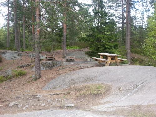 Østmarka; lysløypa Trasop – Haugerud – Nøklevann rundt…