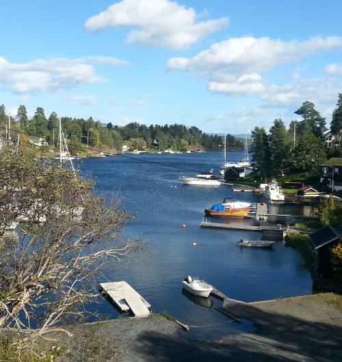 Sandvika – Nesøya – Sandvika..
