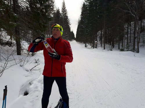 Østmarka; på ski fra Haraløkka – Paradisputten – Skålsjøen….
