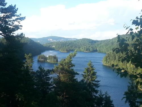 Østmarka; Lutvann rundt – Solbergvann….