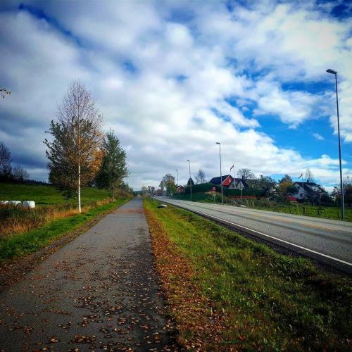Sandvika – Nybrua – Bryn kirke – Vøyenenga…
