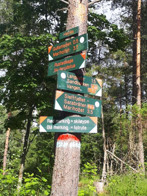 Østmarka; Sotåsen – Flyktningeruta – Skullerud Idrettsplass…