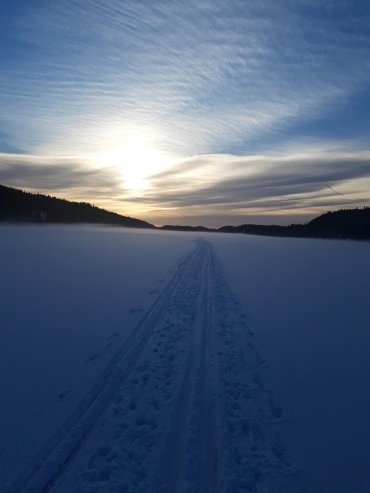 Østmarka; På ski fra Haraløkka – Nøklevann – Nord-Elvåga…