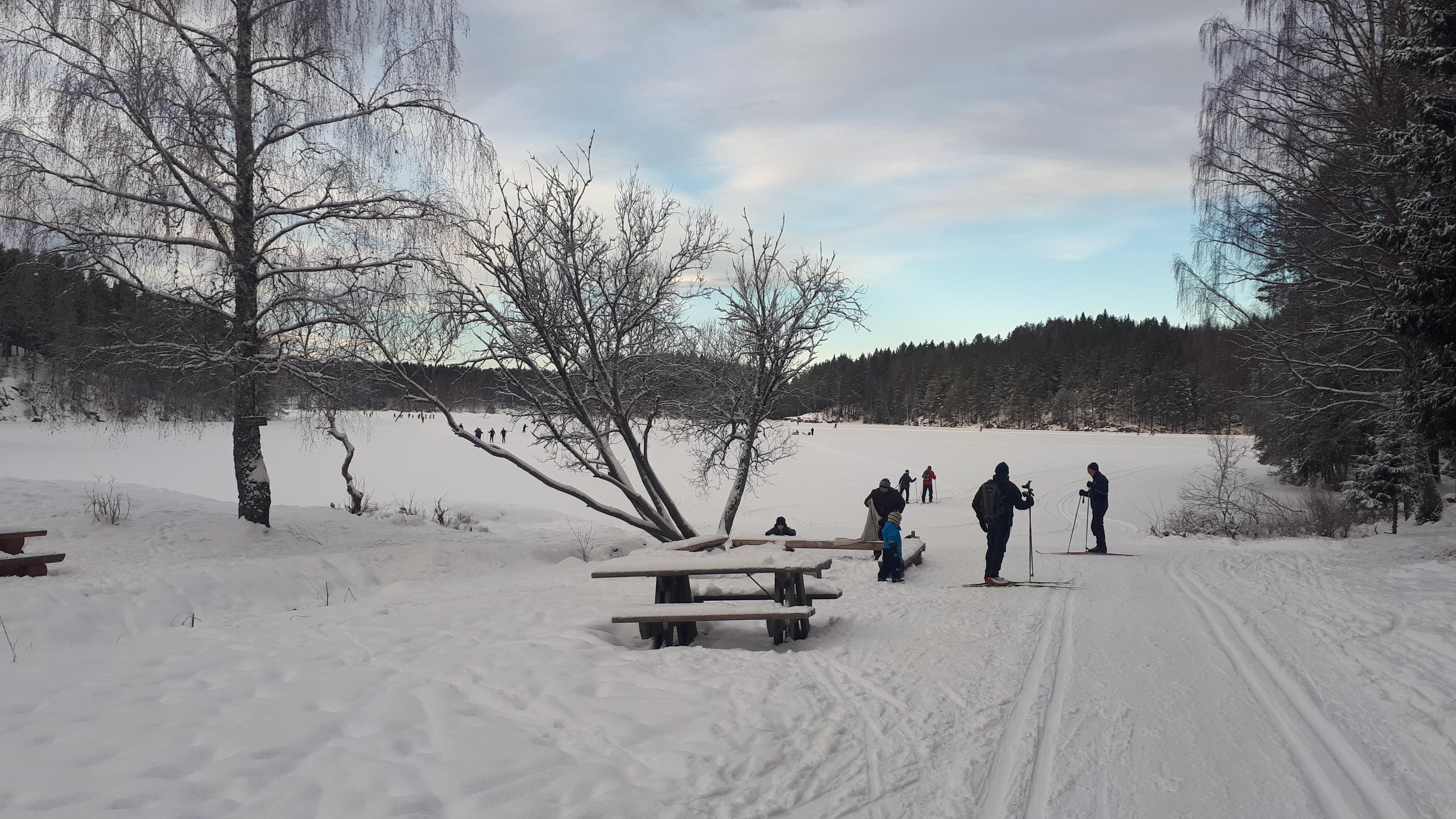 Skitur i Østmarka fra Haraløkka til Deledalen via Mariholtet…