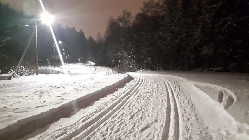 Østmarka; skitur i lysløypa fra Haraløkka til Nuggerud – t/r…