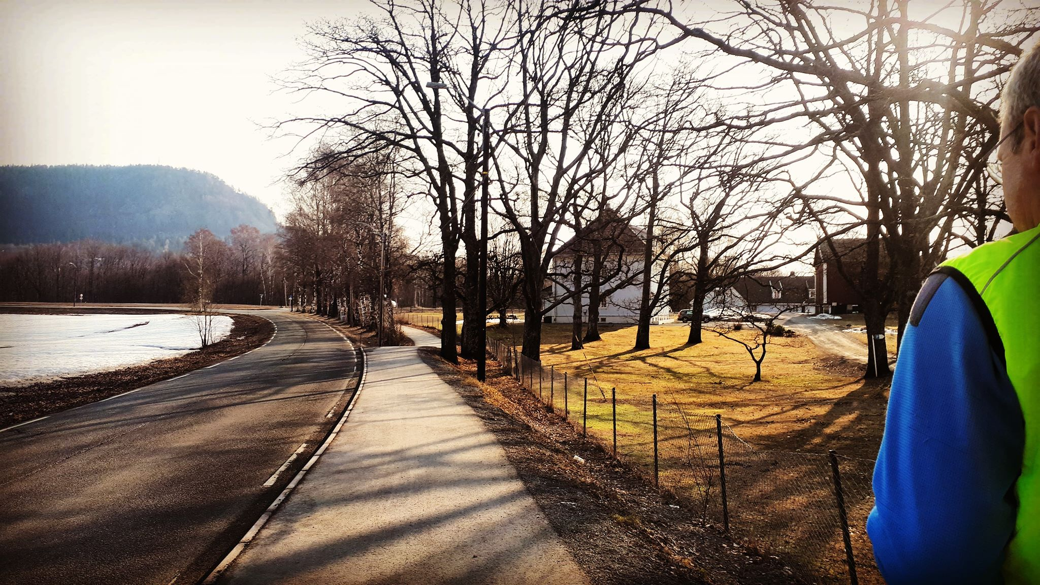 Morning Run i Kolsåsrunden og litt til….